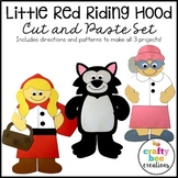 Little Red Riding Hood Craft Bundle | Fairy Tale Craft Activities | Retelling