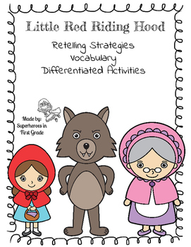 Little Red Riding Hood Differentiated Activities