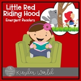 Little Red Riding Hood Emergent Readers