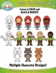 Little Red Riding Hood Fairy Tale Clipart {Zip-A-Dee-Doo-Dah Designs}