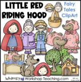 Little Red Riding Hood Fairy Tale Clip Art