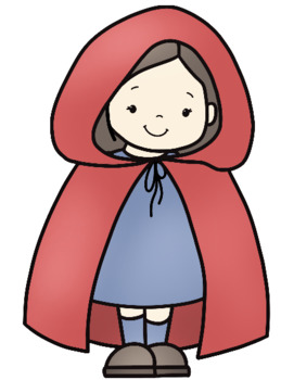 Little Red Riding Hood Fairy Tale Clip Art