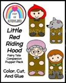 Little Red Riding Hood Fairy Tale Craft Activity: Puppet Pack for Retelling