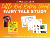 Little Red Riding Hood Fairy Tale Comparative Literature P
