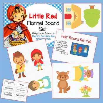 Little Red Riding Hood Flannel Board Set