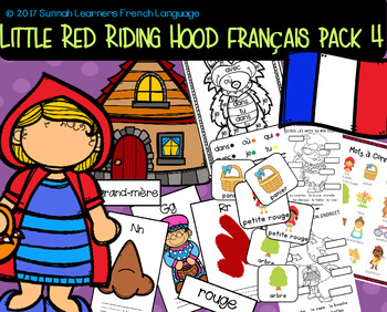 Little Red Riding Hood French Pack 4