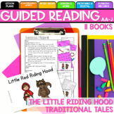 Seesaw/Printable Little Red Riding Hood Guided Reading Levels AA-J