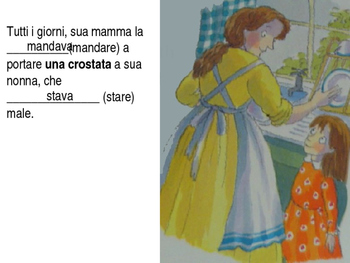 Little Red Riding Hood (Italian) - Passato Prossimo and Imperfect