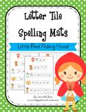 Little Red Riding Hood Letter Tiles Spelling Mat