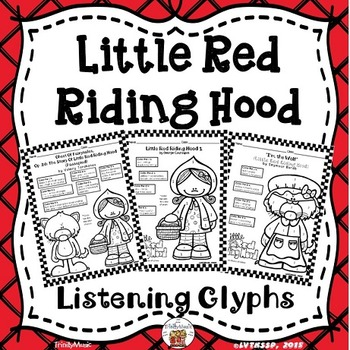Little Red Riding Hood Listening Glyphs (Opera, Classical and Jazz)