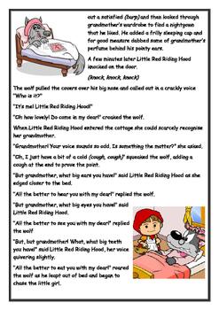 Little Red Riding Hood Listening Post Transcript