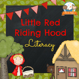 Little Red Riding Hood Literacy Activities for Pre-K and K