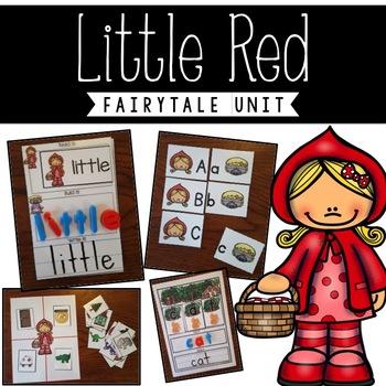 Little Red Riding Hood Literacy Unit Kindergarten