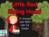 Little Red Riding Hood Literacy and Math Pack for Kindergarten