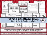 Little Red Riding Hood Literature Extension Pack