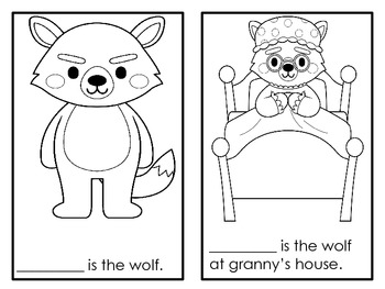 Little Red Riding Hood Literature Focus Unit