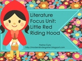 Little Red Riding Hood Literature Focus Unit