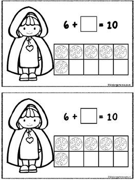 Little Red Riding Hood Make 10