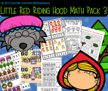 Little Red Riding Hood Math Pack 3