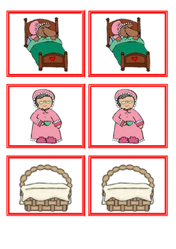 Little Red Riding Hood - Memory game