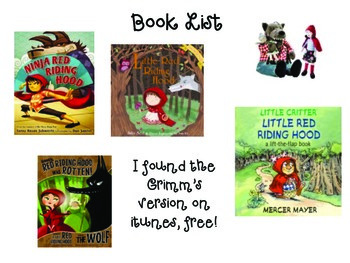 Little Red Riding Hood- Mini Unit