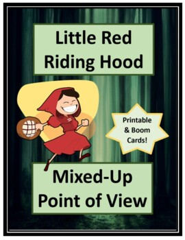 Little Red Riding Hood Point Of View Worksheets Teaching