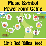Little Red Riding Hood Music Symbol Game