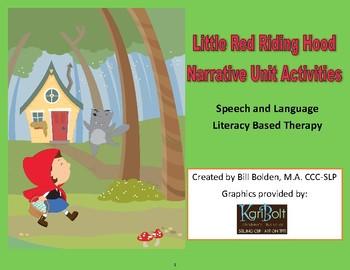 Little Red Riding Hood Narrative Unit Activities