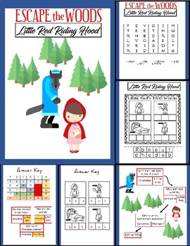Little Red Riding Hood FUN WAY TO REVIEW!