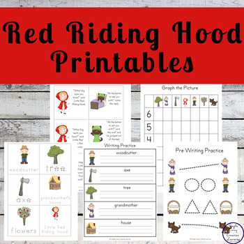 little red riding hood pack by a moment in our world tpt. Black Bedroom Furniture Sets. Home Design Ideas