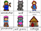 Little Red Riding Hood Pre-K and Kindergarten Literacy and Math Activities
