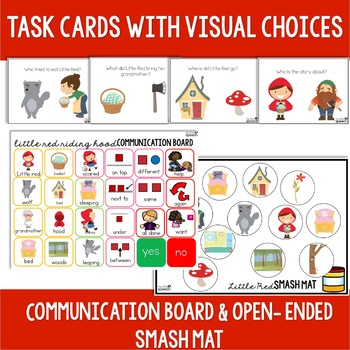 Little Red Riding Hood Preschool Language Unit