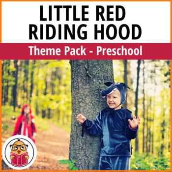 Little Red Riding Hood Preschool Theme Pack