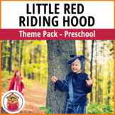 Little Red Riding Hood Preschool Theme Pack