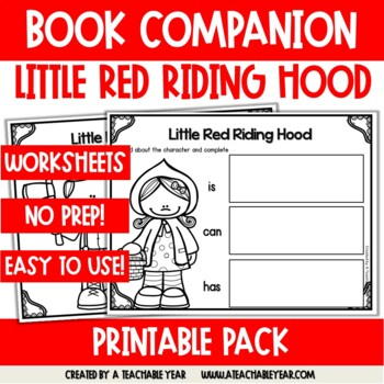 Little Red Riding Hood- Book Companion