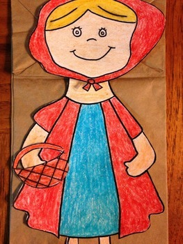 Little Red Riding Hood Puppet