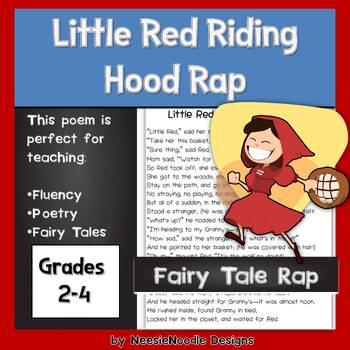 Little Red Riding Hood Rap Poem Fairy Tale