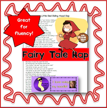 Little Red Riding Hood Poem Worksheets Teaching Resources