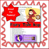 """Little Red Riding Hood"" Rap Poem Fairy Tale, Literacy"