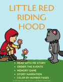 Little Red Riding Hood Interactive Reader & Activities