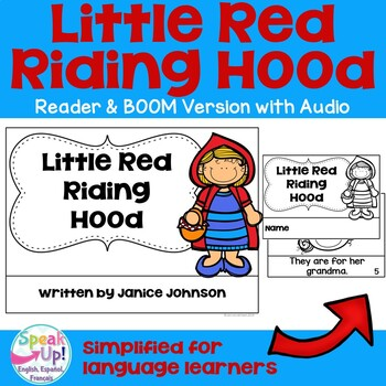 Little Red Riding Hood Reader ~ Simplified for Young Readers