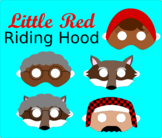 Little Red Riding Hood Reader's Theater Masks