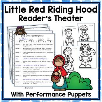 Little Red Riding Hood - Reader's Theater & Puppet Fun!