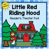 Little Red Riding Hood - Reader's Theater and Puppet Fun!