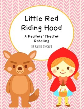 Little Red Riding Hood Reader's Theater Fun!