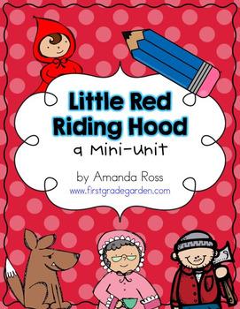 Little Red Riding Hood {Reading & Writing Mini-Unit}