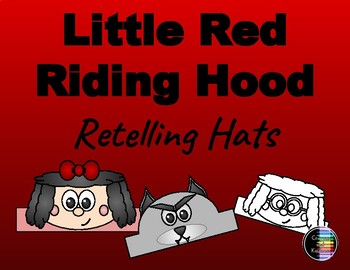 Little Red Riding Hood - Retelling Character Hats