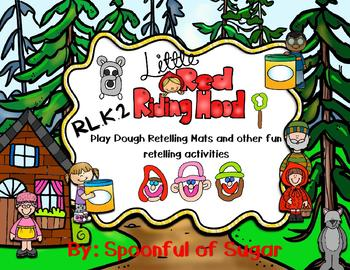 Little Red Riding Hood Retelling Play-doh mats and more!