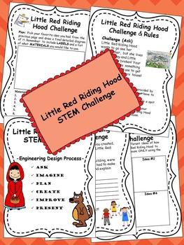 Little Red Riding Hood STEM Challenge