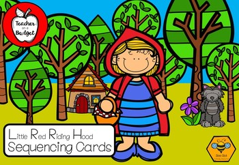 Little Red Riding Hood Sequencing Cards - Bee Bot Friendly